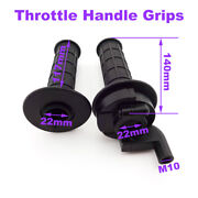Black Throttle Grips For Chinese Made 50-250cc Pit Dirt Bike Motorcycle Parts