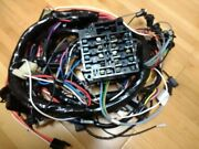 1975 Corvette Dash And Engine Ip Wiring Harness W/auto Trans And W/out Seatbelt Lock