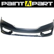 For 2016-2017 Honda Accord Coupe W/snsr Hole Front Bumper Cover Painted Premium