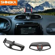 Center Console Vent Panel Trim Tablet Phone Holder Stand For Jeep Renegade 2015+