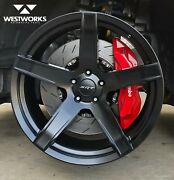 20 X 9.5 10.5 P51 Hc707 Hellcat 4 Wheel Set Rotary Forged Challenger Charger Srt
