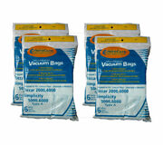 24 Riccar Type A Vacuum Bags For 2000, 4000 Simplicity 5000, 6000