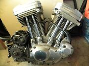 Harley 1987 Evo Xl Sportster Engine And Frame W/salvage Title Local Pick-up Only