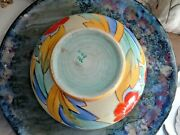 Beautiful Shelley Bowl Aztec Patternbright And Cheerful Colours