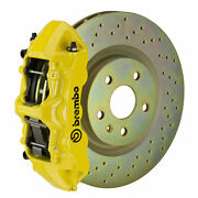 Brembo Gt Bbk For 05-14 Mustang Gt | Front 6pot Yellow 1m4.8001a5