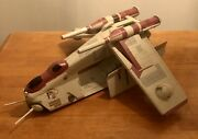 Star Wars Republic Gunship Hasbro Toys R Us Exclusive Collectible Complete