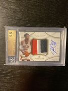 Jimmy Butler 2012-13 Immaculate Rookie 3 Color Patch Rpa Rc 10 Auto Bgs 9.5 /75