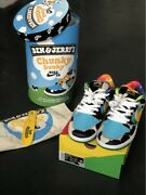 Nike Sb Ben And Jerry Special Fandf Box Us 8.5 100 Authenticandnbsp