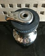 Harken 46 Self Tailing Winch 2 Speed Manual Works Very Good Condition Chromed