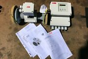 Abb Magnetic Flow Meter And Signal Converter Mag-xm Dm41f New