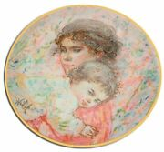 Royal Doulton Marilyn And Child Edna Hibel Collectors International Limited E...