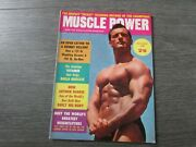Muscle Power Body Building Gym Fitness Clarence Ross Cover October 1958 Magazine