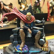 Hct Thor On Throne Resin Statue Figurine Model Collections 1/4 Original