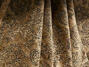 2 Yd Rare Vintage Schumacher Sandringham Woven Floral Chenille Upholstery Fabric