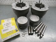 Bmw Airhead R90/6 Pistons And Cylinders New Rings Pushrod Tubes Hone