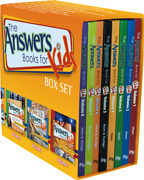New Answers For Kids Boxed Set 8 Books Creation Science Bible Study Homeschool
