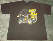 Vtg 80s A Way Of Life Motorcycle Lifestyle Rider T Shirt Xl Faded Tee 90s Eagle