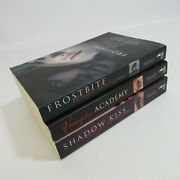 Vampire Academy Lot Of 3 Softcover Books Shadow Kiss Frostbite Richelle Mead