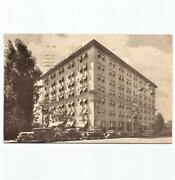Antique Postcard View Of The Dodge Hotel Washington D.c. With Parked Cars