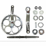 44t Sprocket Wide Crank Assembly Kit -3pcs, For 2 And 4-stroke,gas Motor Bicycle