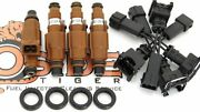 97-01 Honda Prelude H22a4 Fuel Injectors Modern Direct Replacement 4-hole Spray