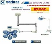 Hospital Ot Light Operating Surgical Lamp Dual Color White And Yellow Led 105