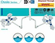 Dual Light Ossio Operation Theater Led Surgical Lamp 4 +3 Ot Room Surgery Light