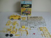 Vintage Mpc 1/25 Scale 3'n1 Mild And Wild 1971 Jeep Jeepster - Built Kit 7120 Vg