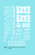 K4 G 129 Decals Virginian And Ohio Boxcar And Hopper White Vando