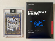 Frank Thomas 21 Signed By Ben Baller Bbdtc Auto /100 Topps Project 2020