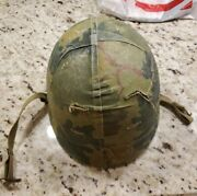 Ww2 Usmc Or Army M1 Helmet Liner And Camouflage Cover All Original Dated 1956