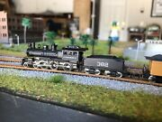 Z Scale Marklin 81419 Old Steam Engine And Passenger Cars Set Dcc And Led Light Rare