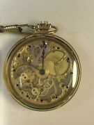 Mechanical 18 Jewel Pocket Watch Moinija Gost 10733-98 With Certificate Old Ussr