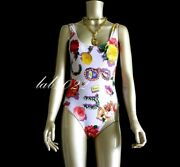 Tom Ford 1995 First Swimwear Collection Wisteria Scarf Print Maillot