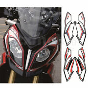 Motorcycle Front Fairing Fish Bone Sticker Decal For Bmw S1000xr 2015 2016 2017