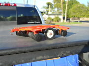 Vintage Played Ertl Allis Chalmers Case Farm Toy Tractor Disc Bent Wing