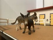 Schleich Donkey And Foal Retired