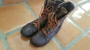Wwiiandnbsp Us Army Pair Of Brown Leather Boots Size 9andnbsp E Original .andnbsp
