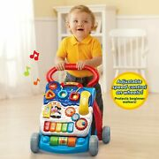 Vtech Sit-to-stand Learning Walker Blue Frustration Free Packaging