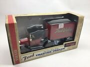 Ertl True Value Ford Tractor Trailer 1/25 Scale Die Cast Bank