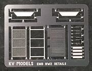 Etched Detail Set For Kato And Walthers Nw-2 Ho Scale Kv Models Kv-110h