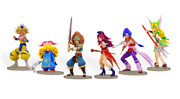 E-store Holy Sword Legend 3 Trials Of Mana Collectorand039s Edition Figure Set Only