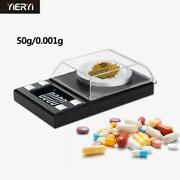 Lcd Digital 0.001g Jewelry Called High-precision Portable Medicine Weight Scale