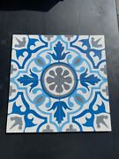 Moroccan Hand-painted Tiles 8x8 Inch
