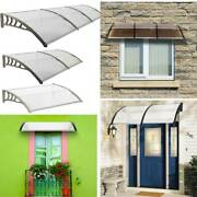 Pvc Over Door Canopy Porch Front Rain Cover Awning Shelter Outdoor Patio