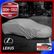 Lexus [outdoor] Car Cover All Weather Waterproof Full Body Custom Fit