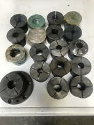 Barber-colman Collets And Collet Holder. Fits 16-16 Types B/c Machines