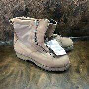 Mens Wellco Tactical Combat Boots Military Size 13.5 R Desert Tan New