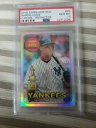 2018 Topps Heritage Aaron Judge Chrome Refractor All Star Rookie Psa 10 Out...