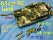Remote Tank Continuous Track Rc Toy Radio Control M1a1 M1a2 Abrams Gulf War